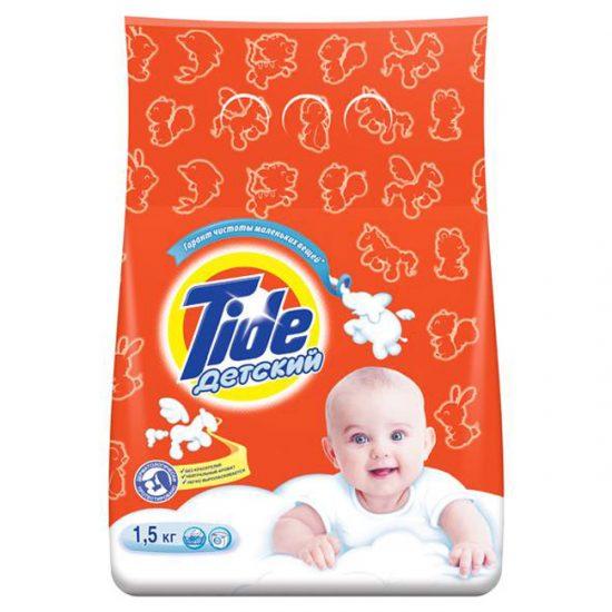 Моющее средство для посудомоечной машины можно сделать на основе детского порошка