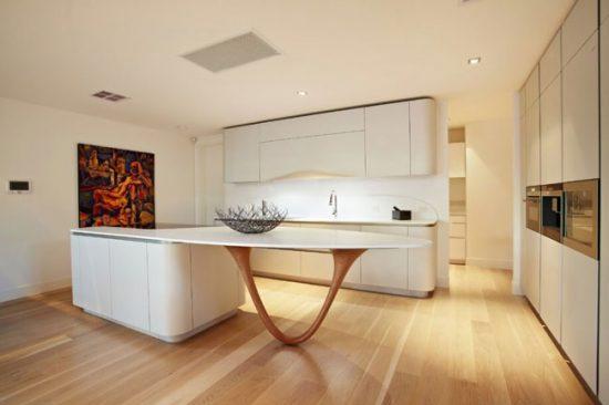 Кухня, совмещенная с гостинной