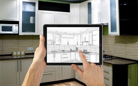 Дизайн кухонного гарнитура должен быть предварительно продуман, чтобы все оказалось на нужном месте