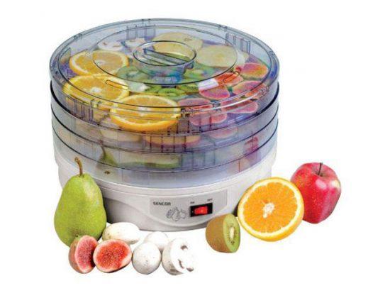 Компактная сушилка для овощей и фруктов