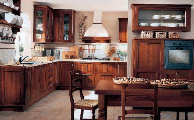 Кухня в стиле кантри – это простота, комфорт и практичность