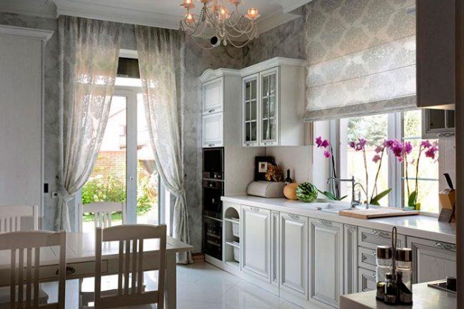 Кухни в стиле прованс - это много света