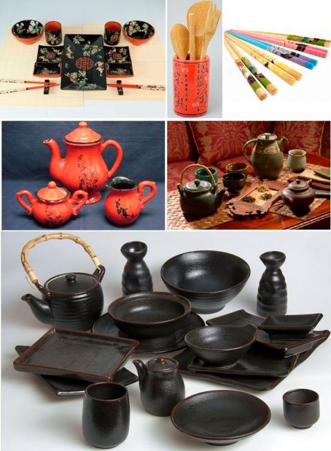 Аксессуары для оформления кухни в китайском стиле
