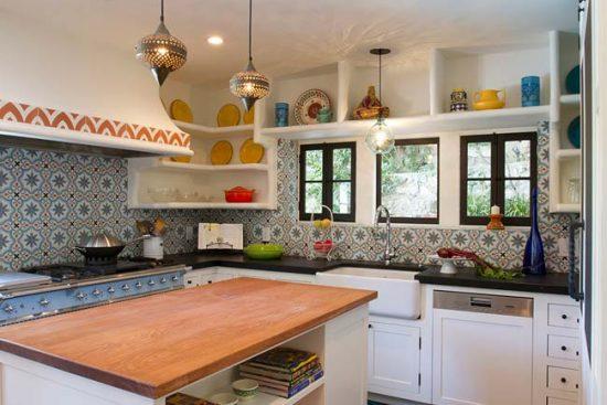 Плитка для кухни в марокканском стиле