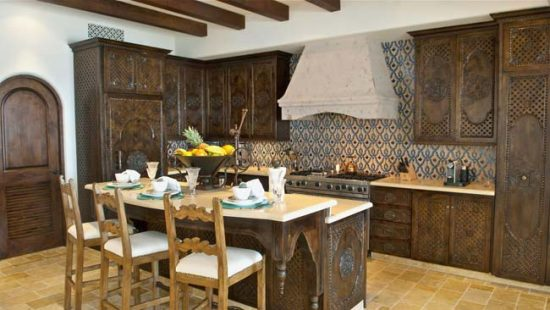 Мебель для марокканской кухни