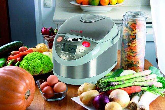 Мультиварка на кухне заменит и плиту, и духовку