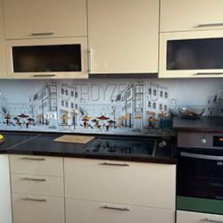 Кухонный фасады из пластика