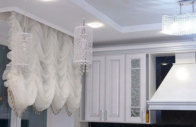 Французские шторы любой интерьер делают роскошным