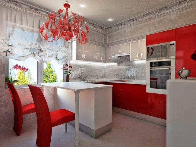Оформить кухню в стиле арт-деко достаточно затратно
