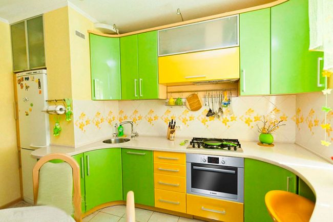 Кухонные фартуки из МДФ