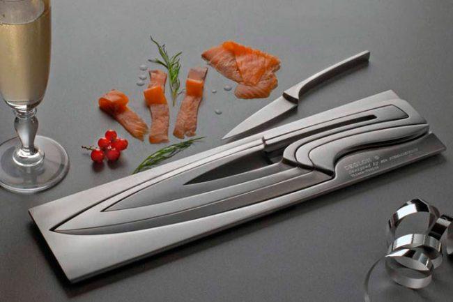 Ножи со сплавом ванадия улучшают остроту лезвия