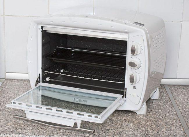 Для небольшой семьи можно приобрести минипечь объемом до 30 л