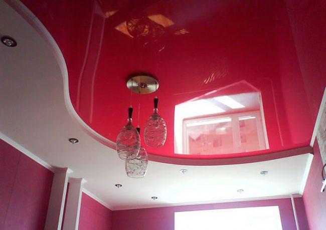 Натяжной потолок можно сделать самостоятельно