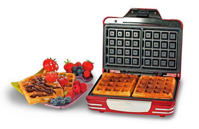Для приготовления толстых вафель лучше приобрести вафельницу с терморегулятором