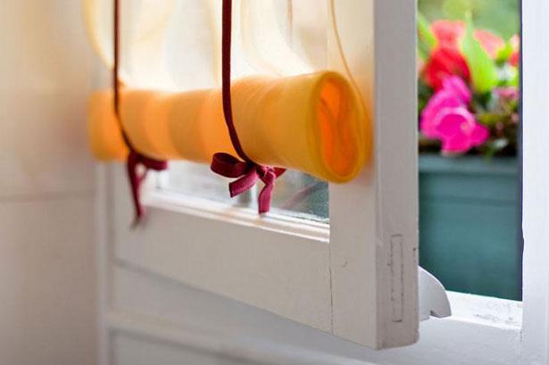 Чудо на окнах своими руками: как сделать рулонные шторы